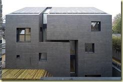 Moderna kamena fasada